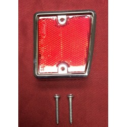 Reflector, right rear with bezel, new