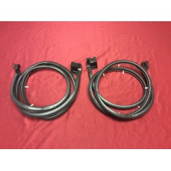 premium super soft lower door seal set (left and right)