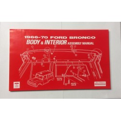 Ford Bronco Body & Interior Assembly Manual