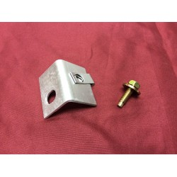 Battery hold down bolt bracket (to core support)