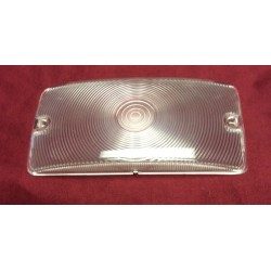 Front parking light lens, clear