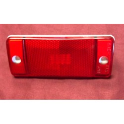 Marker light lens, red rear. new. D5TZ-15A201-B