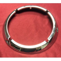 Headlight bezel / door, chrome. new with adjust holes.