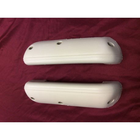 Arm rest pad set, new parchment 1968-1977 bronco