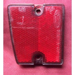 Reflector, left rear, used