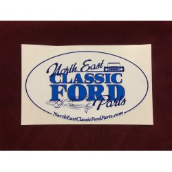 "Northeast Classic Ford Parts Sticker 4.75"" x 2.75"""