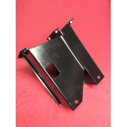 Brake pedal / clutch pedal mount powder coated.