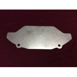 Automatic transmission C-4 164 tooth inspection plate, new, stainless.