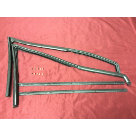 vent window seal set with hardware