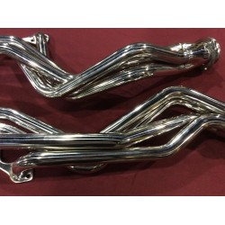 Ceramic Coated Stainless Long Tube Headers Set With Installation Kit