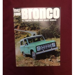 1967 bronco dealer sales brochure reprint