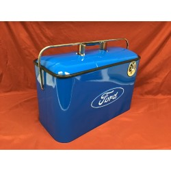 Retro style Ford cooler, Blue