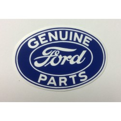 "Genuine Ford Parts 3"" Decal"