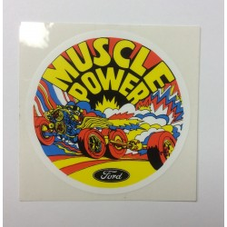 Muscle Power Parts Decal