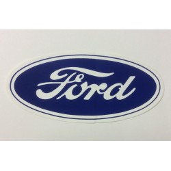 Ford Oval Decal 17""