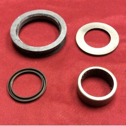 Spindle bearing and seal kit. fits front Dana 44.